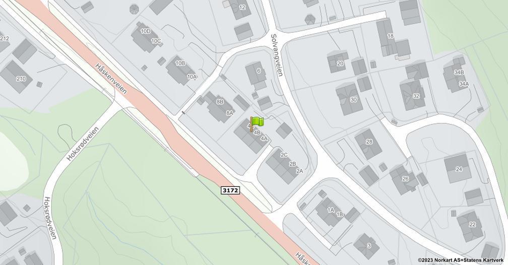 Kart sentrert på geolokasjonen 59.3180977604407 breddegrad, 10.1621584215847 lengdegrad