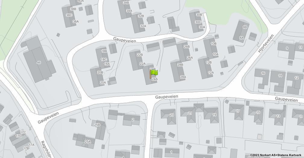 Kart sentrert på geolokasjonen 59.2231249790457 breddegrad, 10.2807121709944 lengdegrad