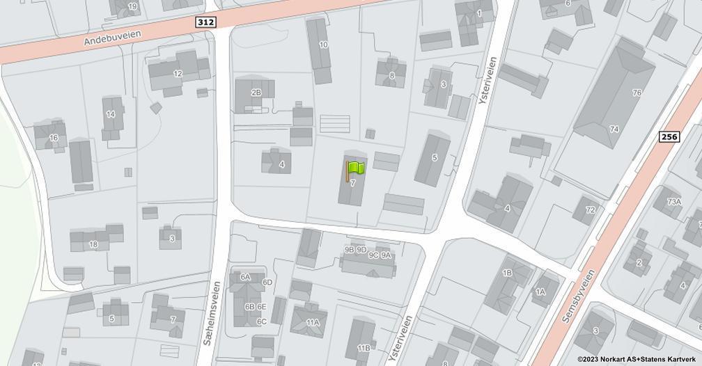 Kart sentrert på geolokasjonen 59.2814046631727 breddegrad, 10.3269299993975 lengdegrad