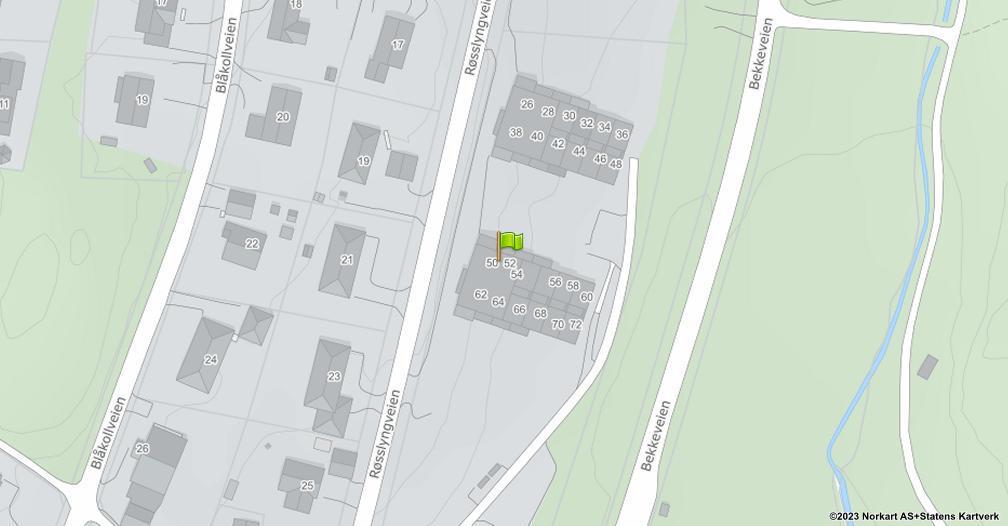 Kart sentrert på geolokasjonen 59.2603260951363 breddegrad, 10.368488477103 lengdegrad