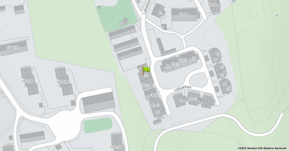 Kart sentrert på geolokasjonen 59.2370653723311 breddegrad, 10.3962511080722 lengdegrad
