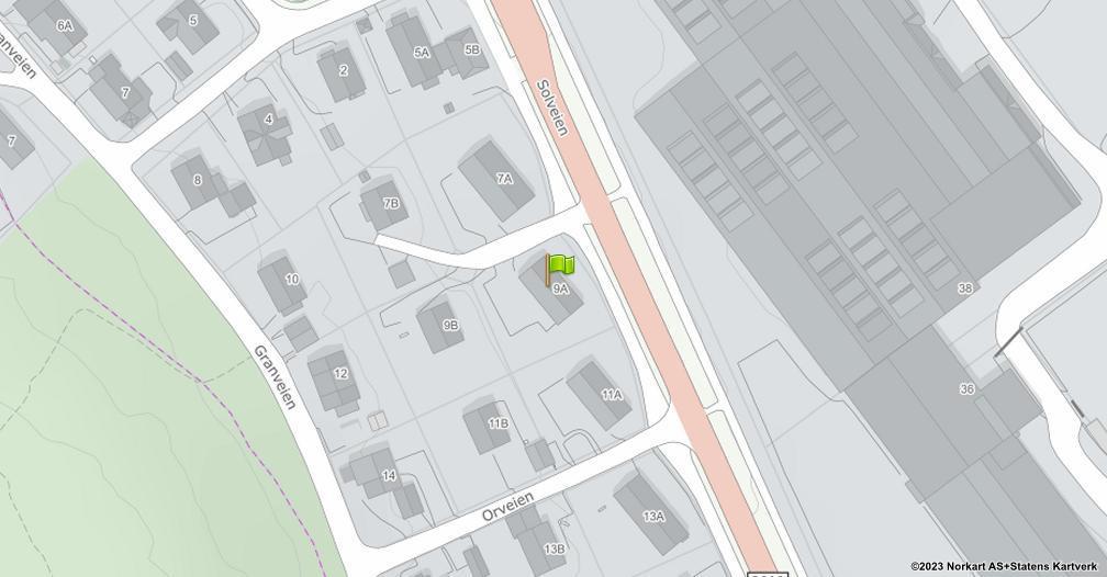 Kart sentrert på geolokasjonen 59.2606776727809 breddegrad, 10.4062857636052 lengdegrad