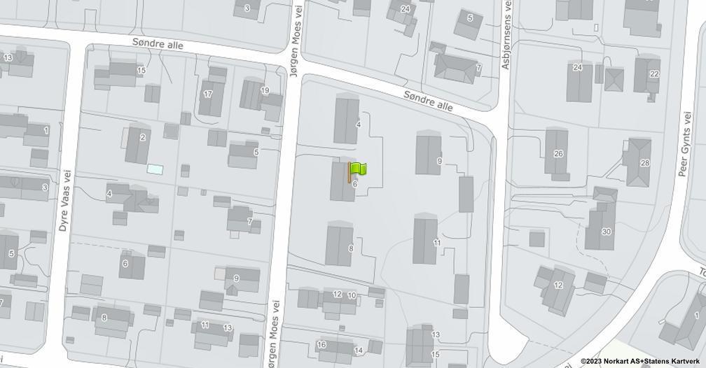Kart sentrert på geolokasjonen 59.287434264246 breddegrad, 10.4244175508201 lengdegrad