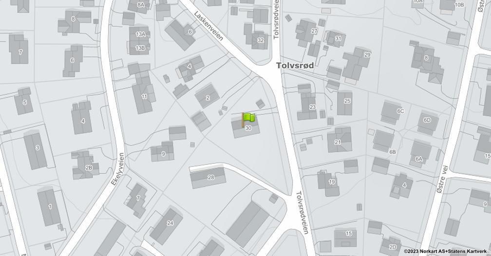 Kart sentrert på geolokasjonen 59.2743882065236 breddegrad, 10.476447141164 lengdegrad