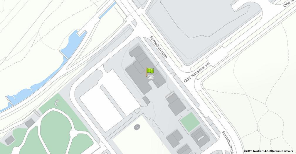 Kart sentrert på geolokasjonen 59.8987691675122 breddegrad, 10.621094830986 lengdegrad