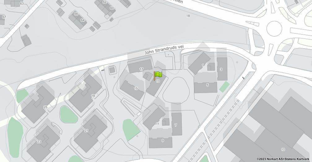 Kart sentrert på geolokasjonen 59.9056036402185 breddegrad, 10.6234467633044 lengdegrad