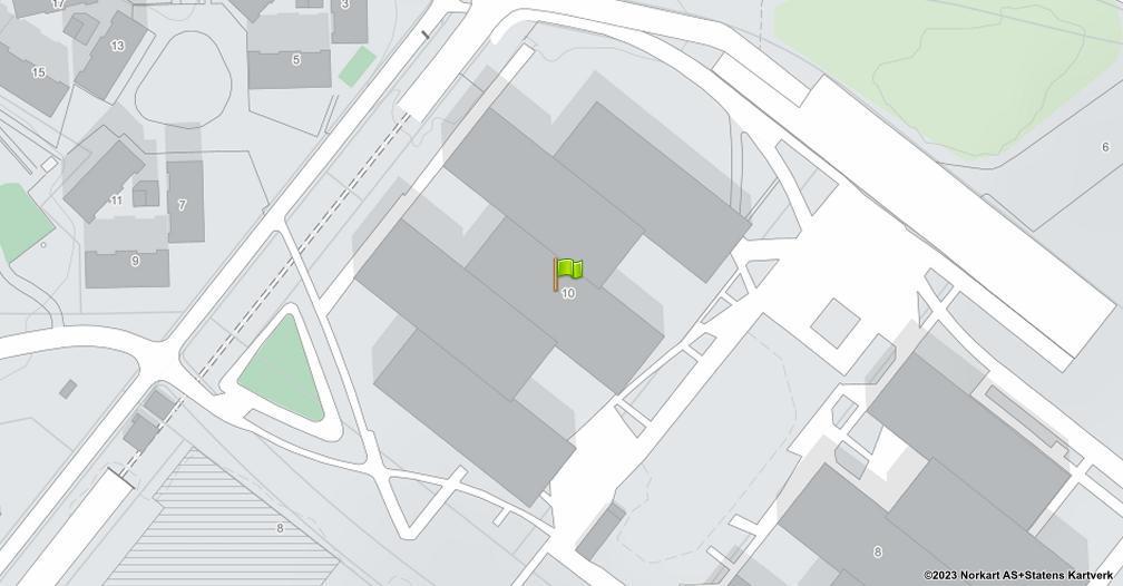 Kart sentrert på geolokasjonen 59.9050432902076 breddegrad, 10.6254810497476 lengdegrad