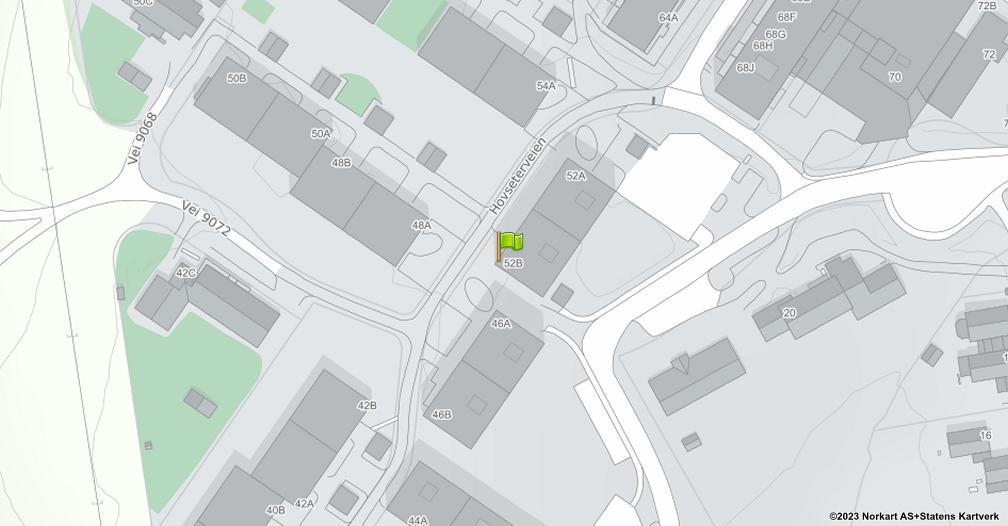 Kart sentrert på geolokasjonen 59.9489156316788 breddegrad, 10.6514918515992 lengdegrad