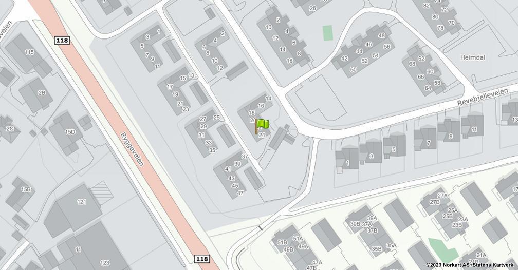 Kart sentrert på geolokasjonen 59.4105596514166 breddegrad, 10.6937821467123 lengdegrad