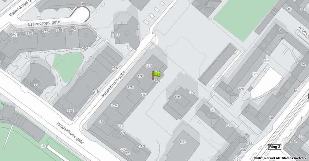 Kart sentrert på geolokasjonen 59.9281197984152 breddegrad, 10.7114206482083 lengdegrad