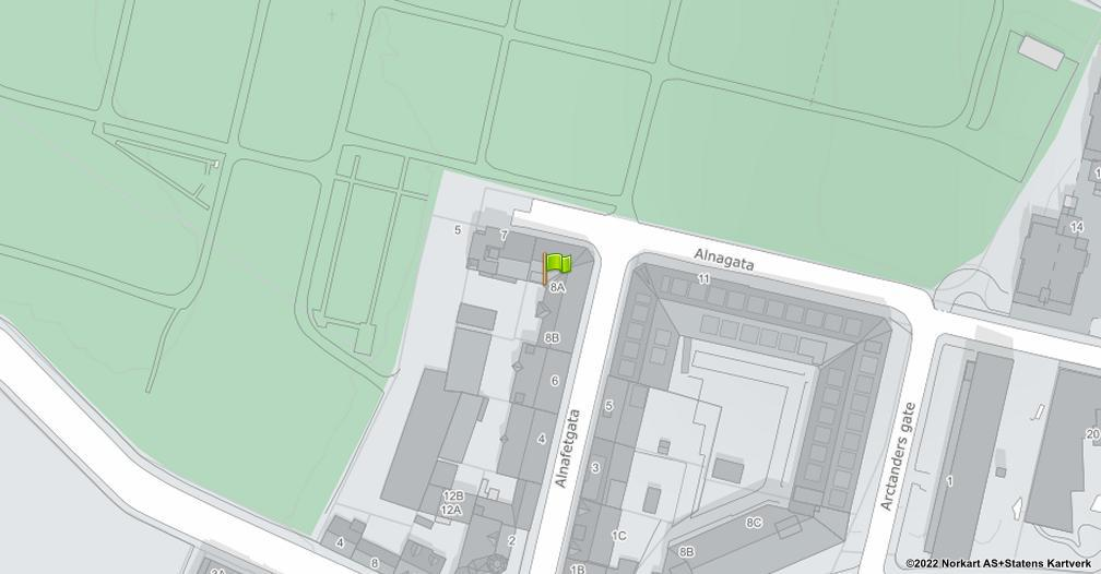 Kart sentrert på geolokasjonen 59.9032354556116 breddegrad, 10.7719518556898 lengdegrad