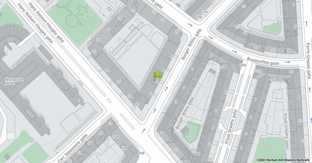 Kart sentrert på geolokasjonen 59.9400861281834 breddegrad, 10.7739895775544 lengdegrad