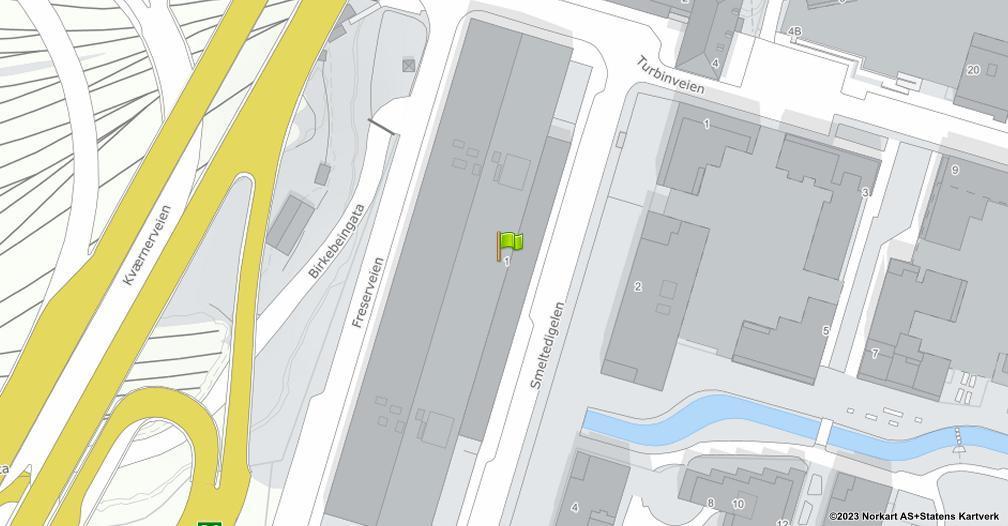 Kart sentrert på geolokasjonen 59.9040412902832 breddegrad, 10.785799980163574 lengdegrad