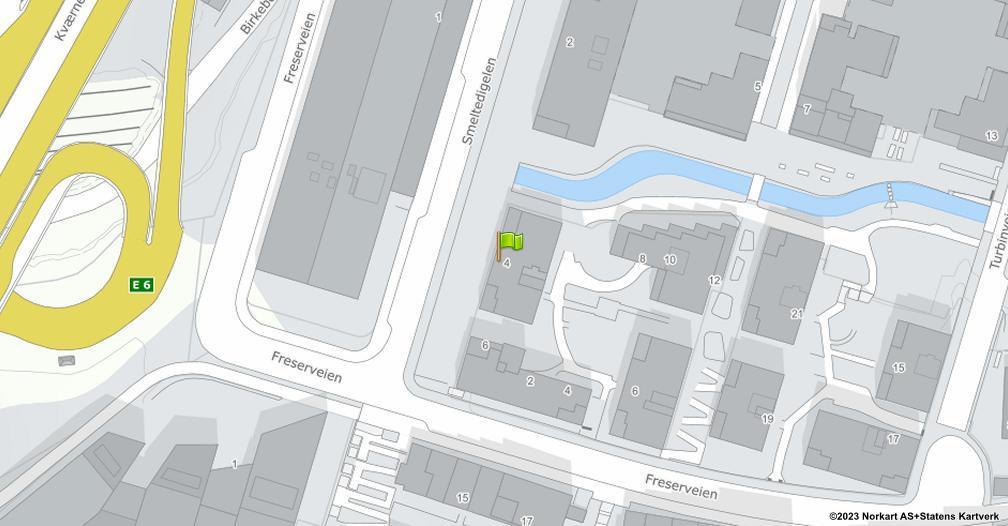 Kart sentrert på geolokasjonen 59.9034274318206 breddegrad, 10.7861413424674 lengdegrad