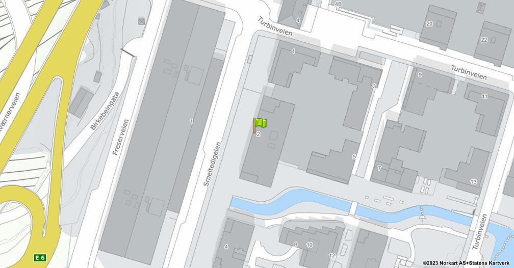 Kart sentrert på geolokasjonen 59.9039827014349 breddegrad, 10.7864572613927 lengdegrad