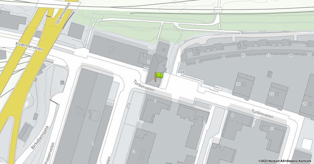 Kart sentrert på geolokasjonen 59.9045432837604 breddegrad, 10.7868450011923 lengdegrad