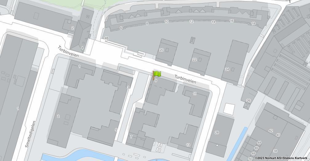 Kart sentrert på geolokasjonen 59.9042755050282 breddegrad, 10.7880465216623 lengdegrad
