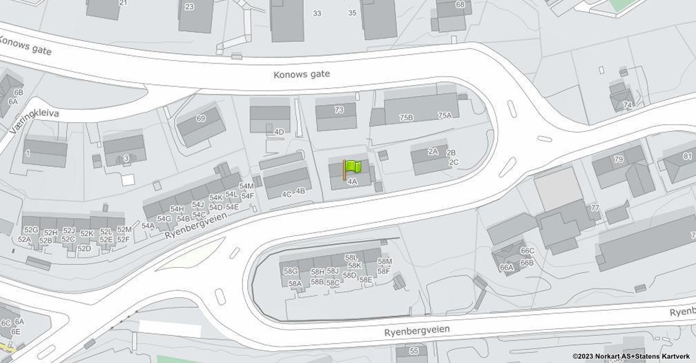 Kart sentrert på geolokasjonen 59.9015662660629 breddegrad, 10.7884730031264 lengdegrad
