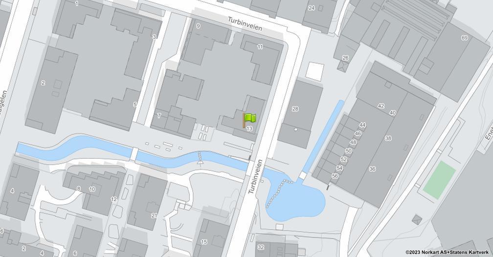Kart sentrert på geolokasjonen 59.9037476807428 breddegrad, 10.7885545628103 lengdegrad