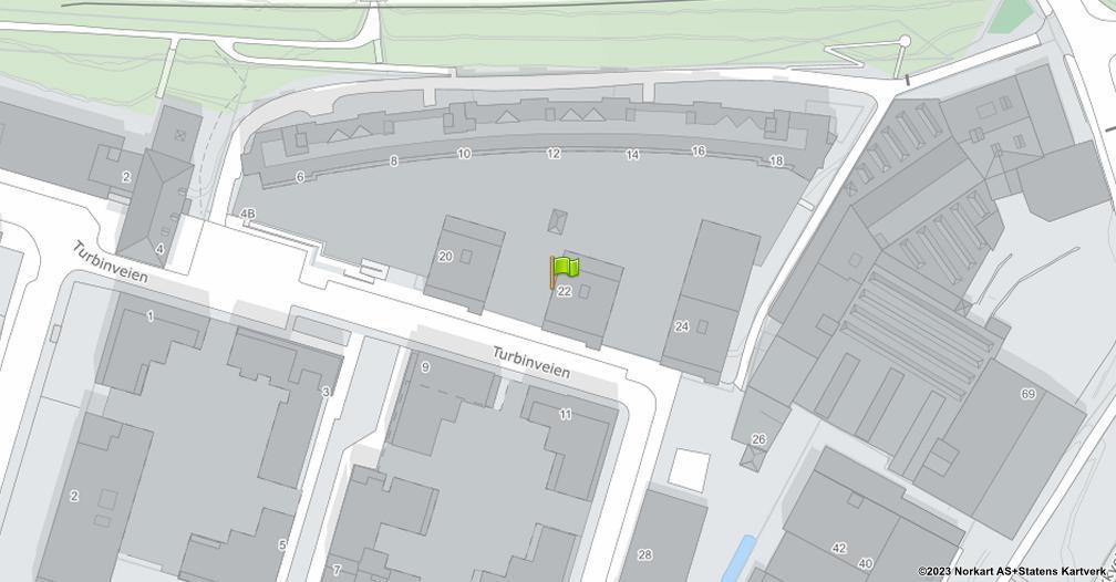 Kart sentrert på geolokasjonen 59.9044477081482 breddegrad, 10.7886601631169 lengdegrad
