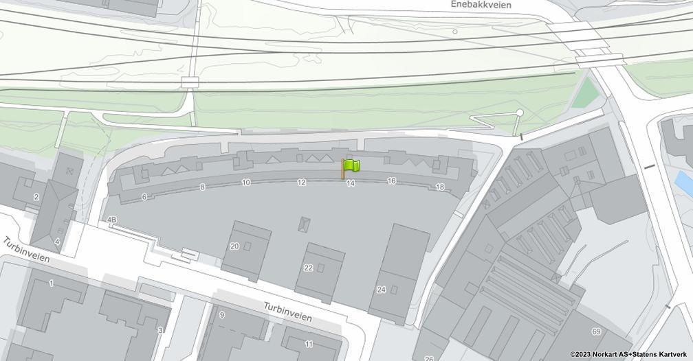 Kart sentrert på geolokasjonen 59.9047668800253 breddegrad, 10.7889670084939 lengdegrad