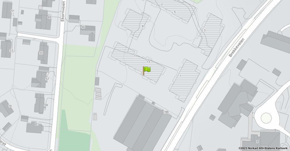 Kart sentrert på geolokasjonen 59.656136 breddegrad, 10.78904 lengdegrad