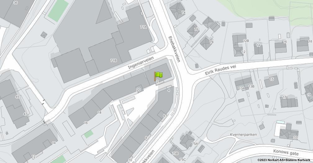 Kart sentrert på geolokasjonen 59.9029008226628 breddegrad, 10.792117259768 lengdegrad