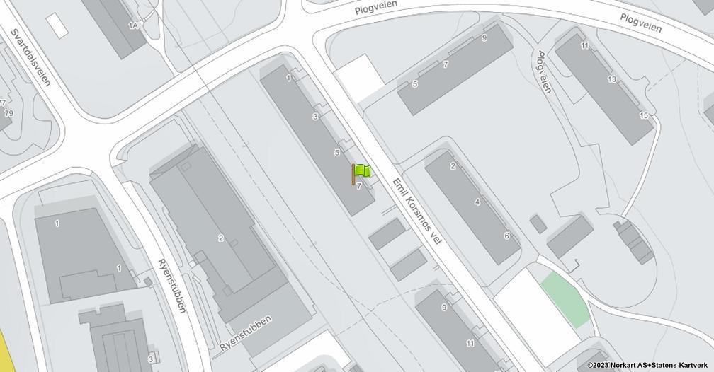 Kart sentrert på geolokasjonen 59.8986145306787 breddegrad, 10.8066750156218 lengdegrad
