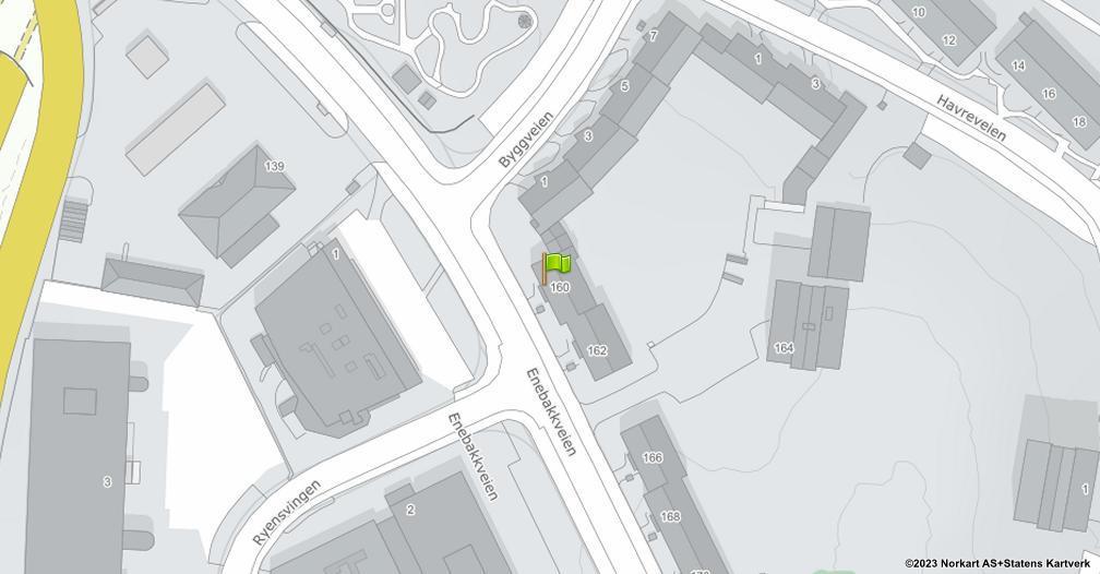 Kart sentrert på geolokasjonen 59.8939038252081 breddegrad, 10.8069911934279 lengdegrad