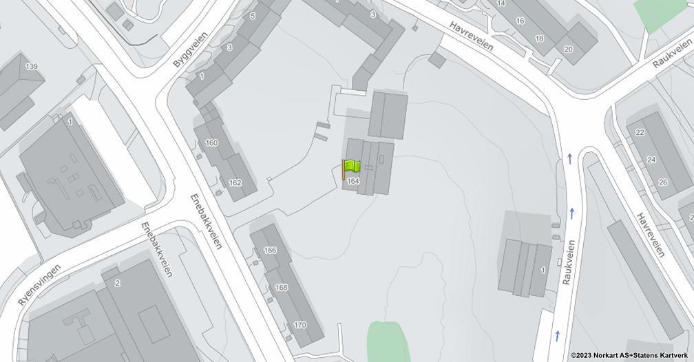 Kart sentrert på geolokasjonen 59.8937639650337 breddegrad, 10.8080203736969 lengdegrad