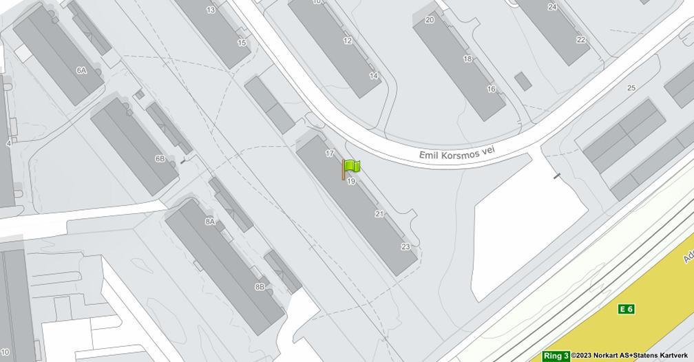 Kart sentrert på geolokasjonen 59.8973208845556 breddegrad, 10.8086606478508 lengdegrad