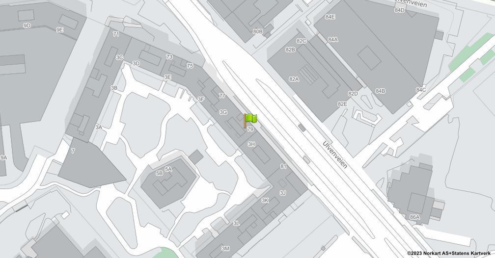 Kart sentrert på geolokasjonen 59.925676586826 breddegrad, 10.8112221541469 lengdegrad
