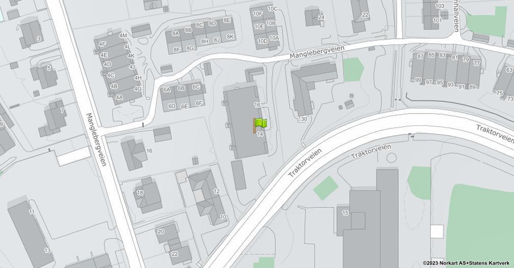 Kart sentrert på geolokasjonen 59.9004048933535 breddegrad, 10.811689010966 lengdegrad