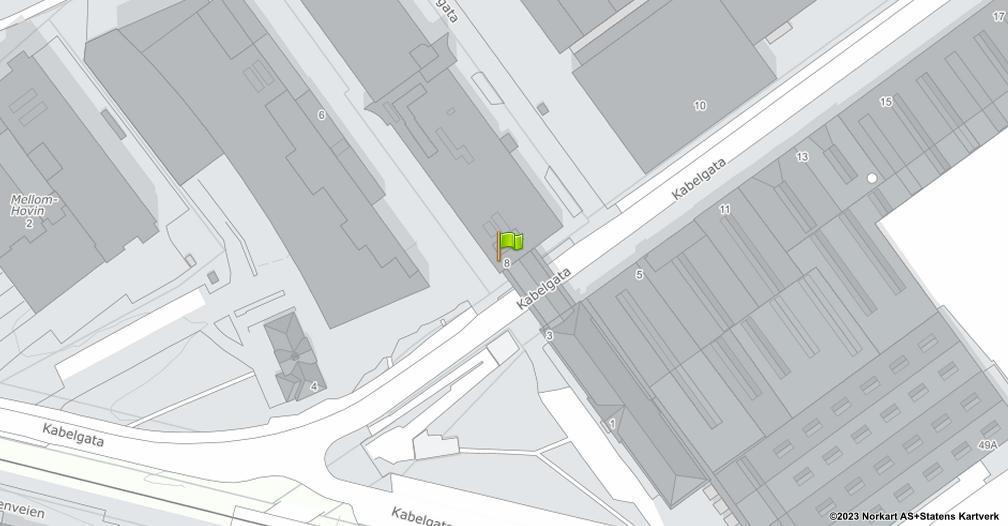 Kart sentrert på geolokasjonen 59.9269400524025 breddegrad, 10.8153546151231 lengdegrad
