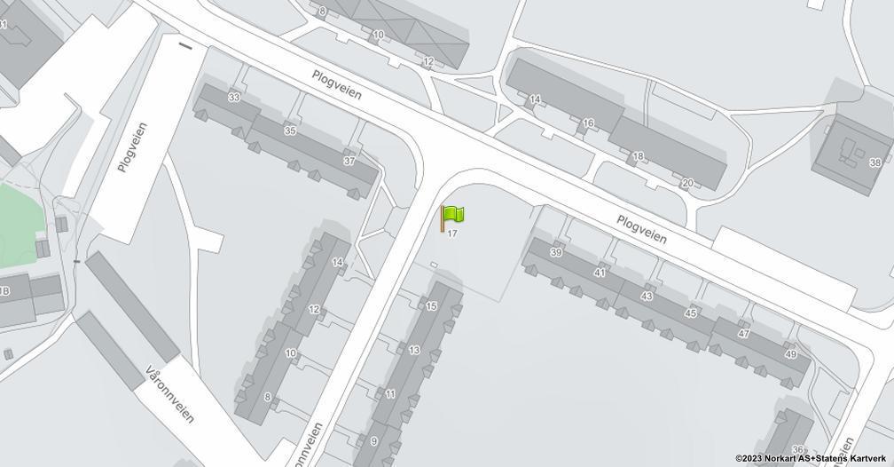 Kart sentrert på geolokasjonen 59.895930971503 breddegrad, 10.8156821061301 lengdegrad