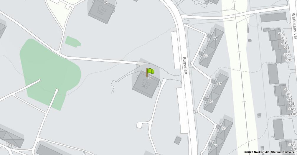 Kart sentrert på geolokasjonen 59.8969958612464 breddegrad, 10.817921259345 lengdegrad