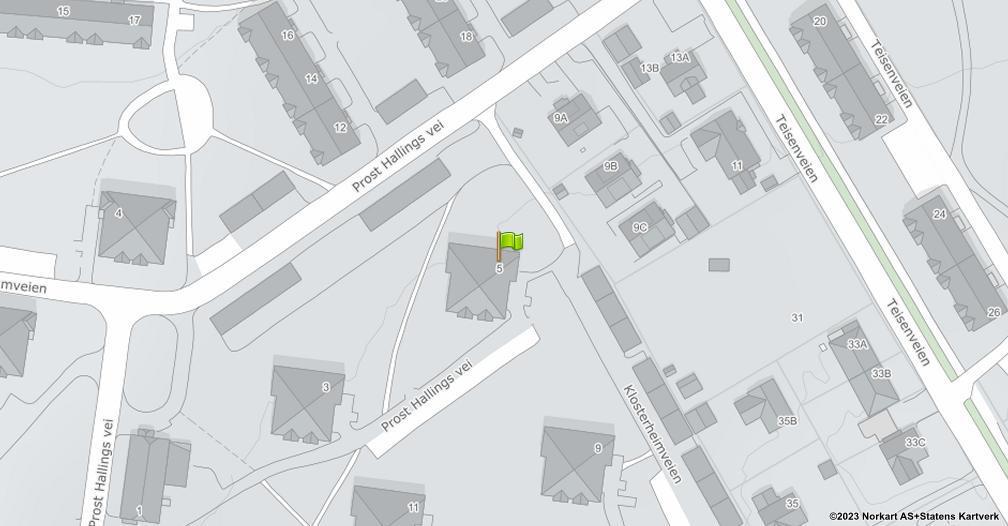 Kart sentrert på geolokasjonen 59.9151060051023 breddegrad, 10.8196450502194 lengdegrad