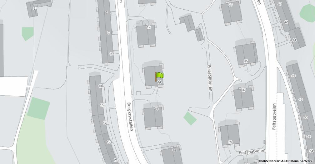 Kart sentrert på geolokasjonen 59.868899261842 breddegrad, 10.8200132052335 lengdegrad