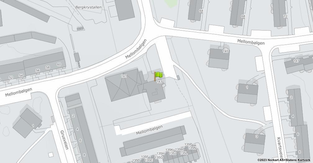 Kart sentrert på geolokasjonen 59.8662418133381 breddegrad, 10.8225292290806 lengdegrad