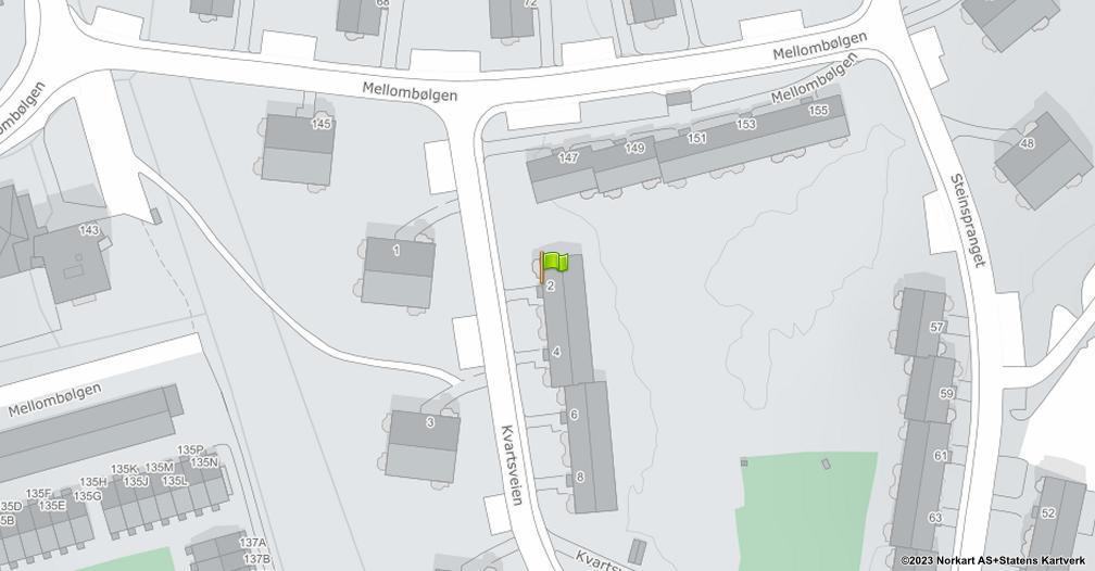 Kart sentrert på geolokasjonen 59.8661131865644 breddegrad, 10.8246833350201 lengdegrad