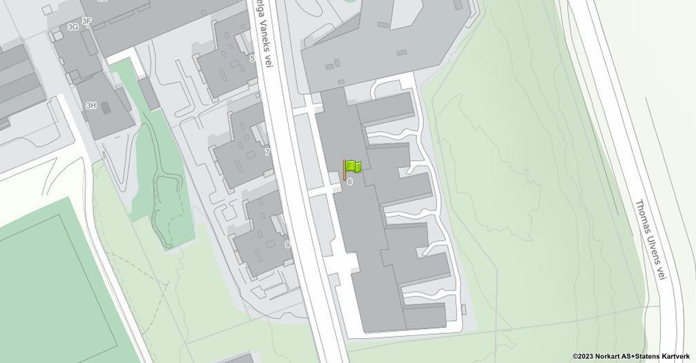 Kart sentrert på geolokasjonen 59.8479876961272 breddegrad, 10.8326645886657 lengdegrad