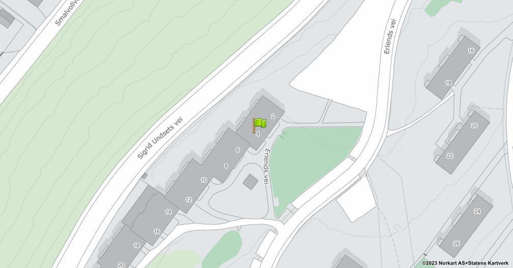 Kart sentrert på geolokasjonen 59.9189615369162 breddegrad, 10.8395341991776 lengdegrad