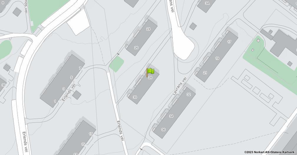 Kart sentrert på geolokasjonen 59.9181677378059 breddegrad, 10.8417084672169 lengdegrad