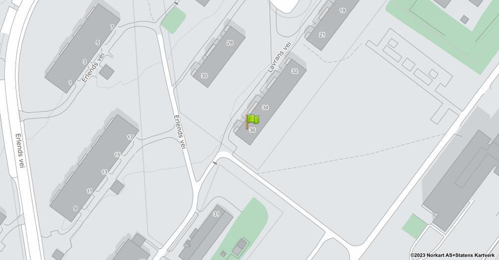 Kart sentrert på geolokasjonen 59.917724479656 breddegrad, 10.8419343429603 lengdegrad