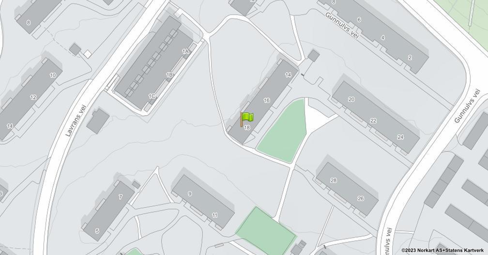Kart sentrert på geolokasjonen 59.919714055393 breddegrad, 10.844173481421 lengdegrad