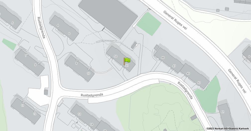 Kart sentrert på geolokasjonen 59.8731092964282 breddegrad, 10.8447177034905 lengdegrad
