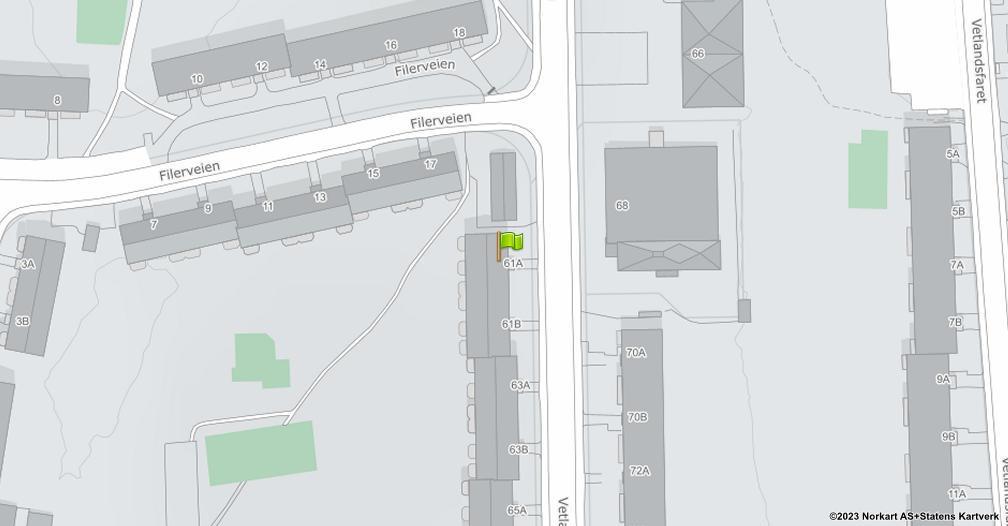 Kart sentrert på geolokasjonen 59.9013054430848 breddegrad, 10.8471039799746 lengdegrad