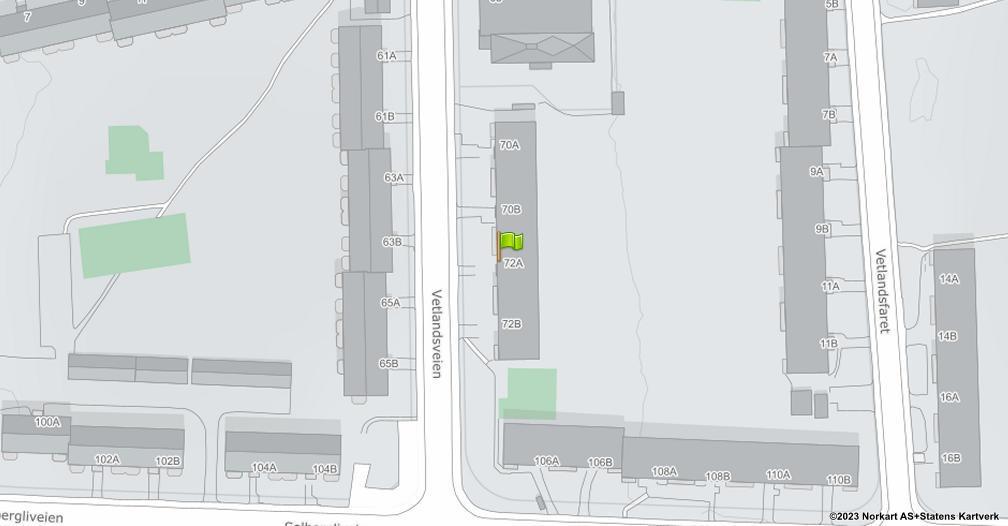 Kart sentrert på geolokasjonen 59.9007846170915 breddegrad, 10.8477365922877 lengdegrad