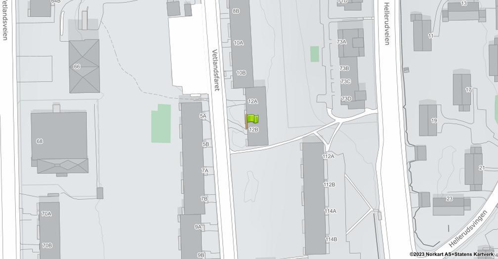 Kart sentrert på geolokasjonen 59.901509922051 breddegrad, 10.8498151923921 lengdegrad