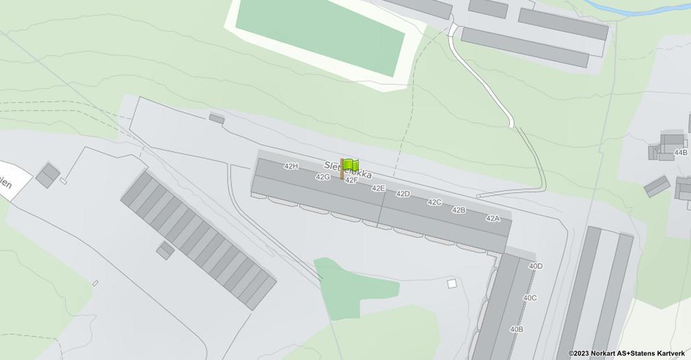 Kart sentrert på geolokasjonen 59.9497827036424 breddegrad, 10.8500875826226 lengdegrad